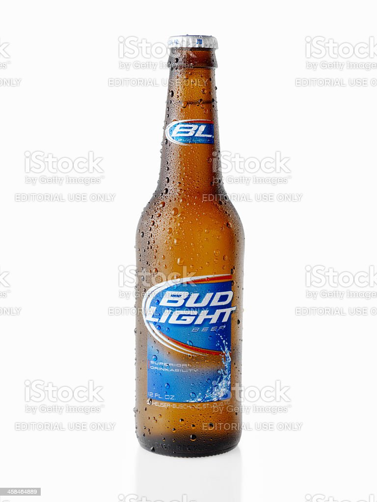 Ice Cold Bottle Of Bud Light Stock Photo Awesome Ideas