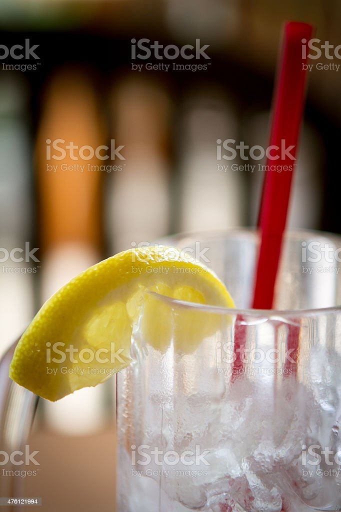 Ice Cold Drink stock photo