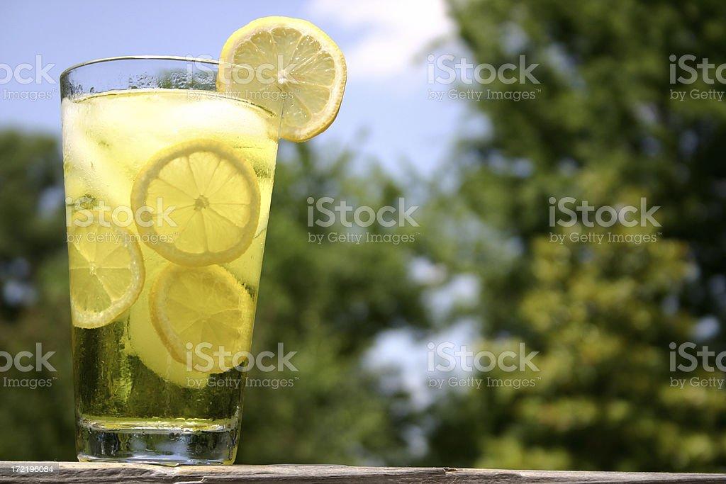 Ice Cold Lemonade royalty-free stock photo
