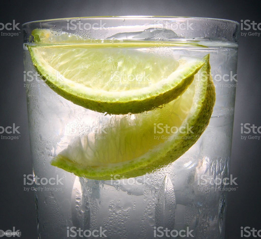 ice cool drink royalty-free stock photo