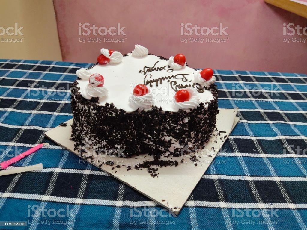 Marvelous Ice Cream And Chocolate Birthday Cake And White Red Black Colour Birthday Cards Printable Giouspongecafe Filternl