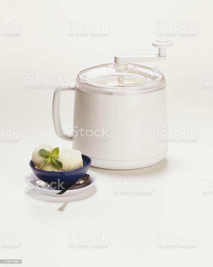 Ice cream Maker stock photo