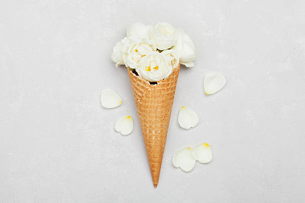 Ice cream of rose flowers in waffle cone floral decoration picture id538194480?b=1&k=6&m=538194480&s=612x612&w=0&h=1rclthhskzotvajf wdf7k1 lbbcgwezi8pu56ytuma=