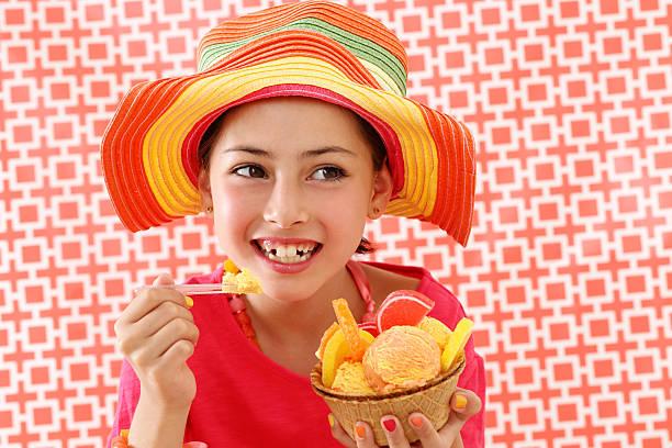 festa de gelado - nails ice cream imagens e fotografias de stock