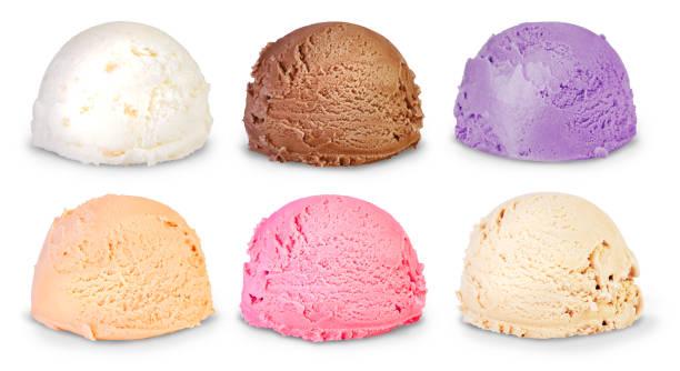 ice sorvete - foto de acervo