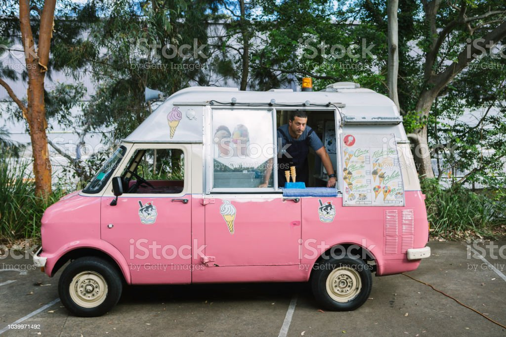 1d0e6e5ee2 Ice Cream Salesman Looking For Clients Stock Photo   More Pictures ...