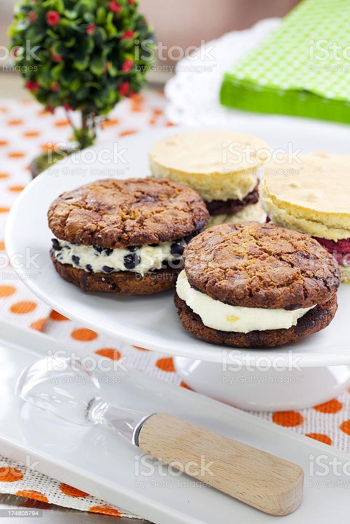 Ice Cream Sandwiches royalty-free stock photo