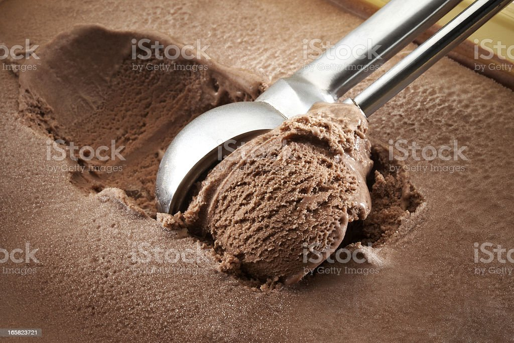 ice cream scoop stock photo