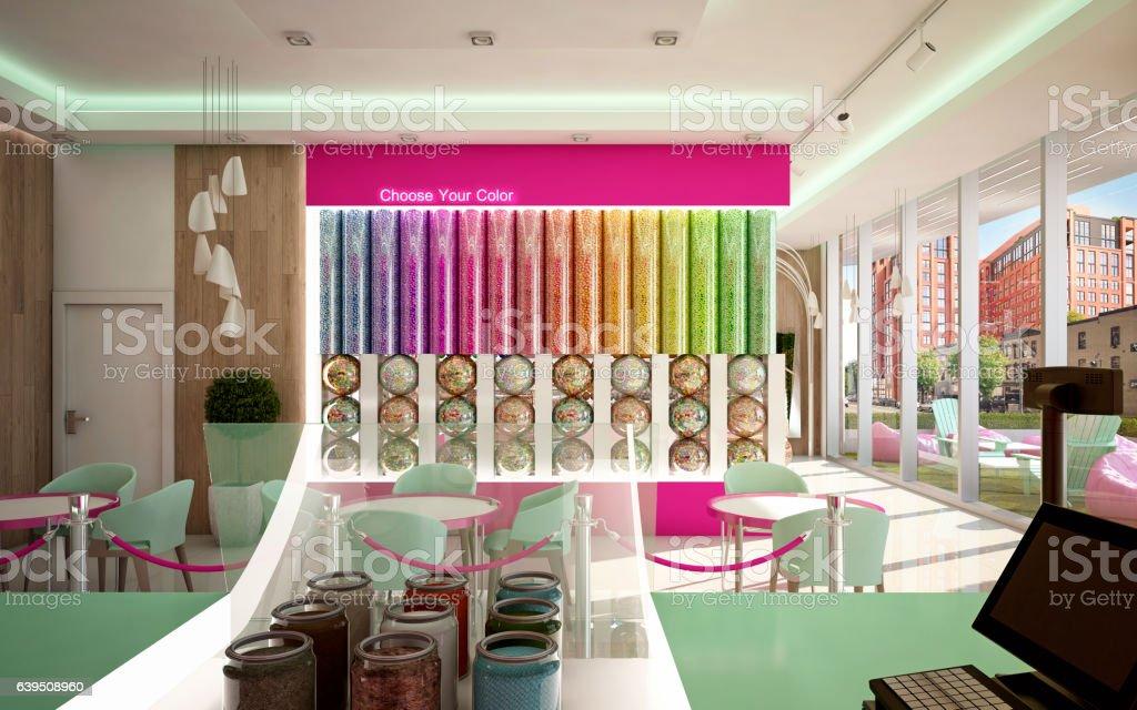 Ice Cream Shop Camera 2 stock photo