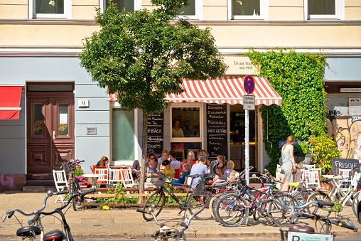 ice cream shop in Berlin