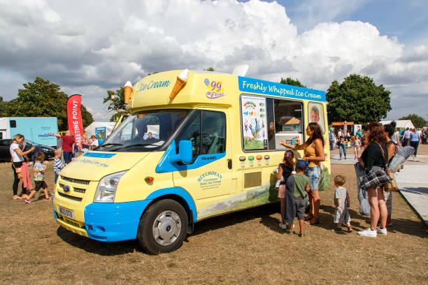 Ice Cream Van - UK stock photo