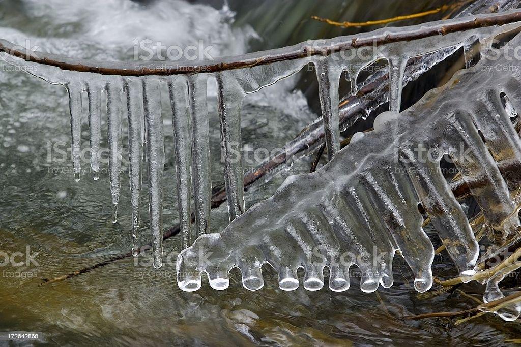 Ice Creek royalty-free stock photo
