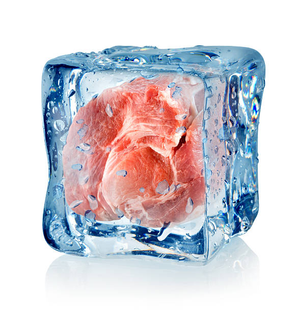 Ice cube and pork