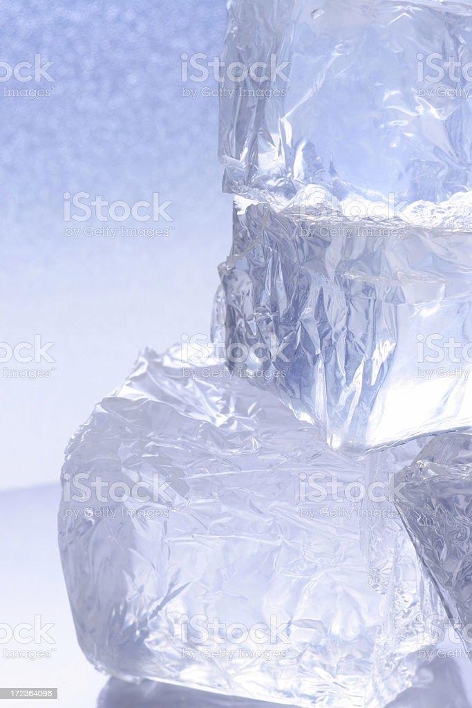 Ice cube background royalty-free stock photo