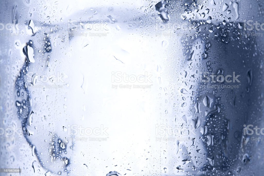 Ice cube close up royalty-free stock photo
