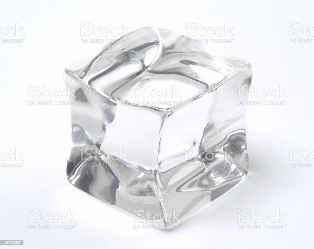 Cubetto di ghiaccio foto stock royalty-free