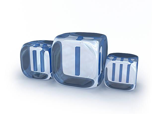 """ice cube """"podium"""" - sockelleisten ecken stock-fotos und bilder"""