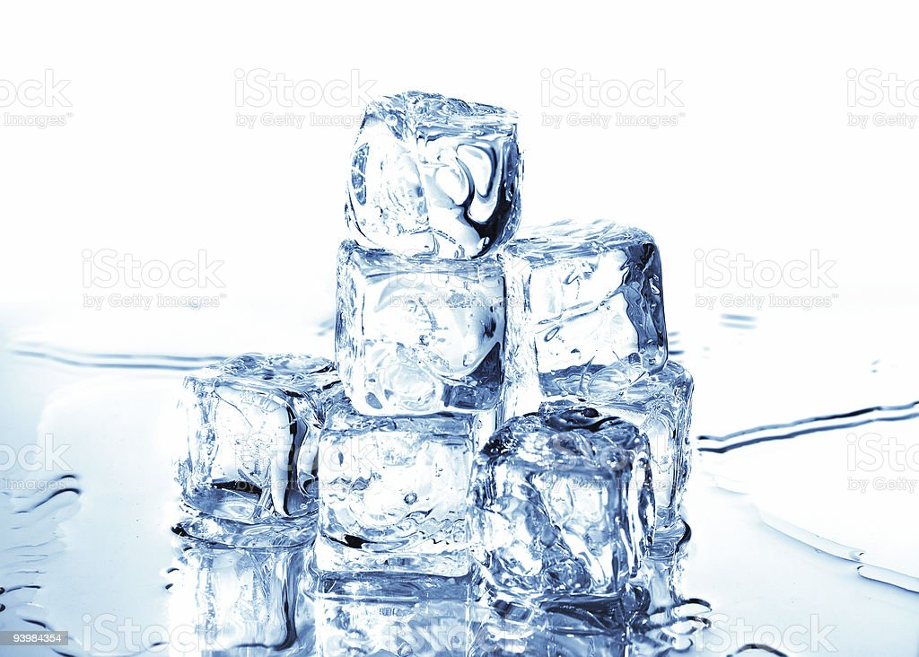ice cubes 4 royalty-free stock photo