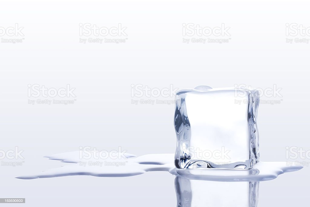 ice cubes - Royalty-free Bevroren Stockfoto