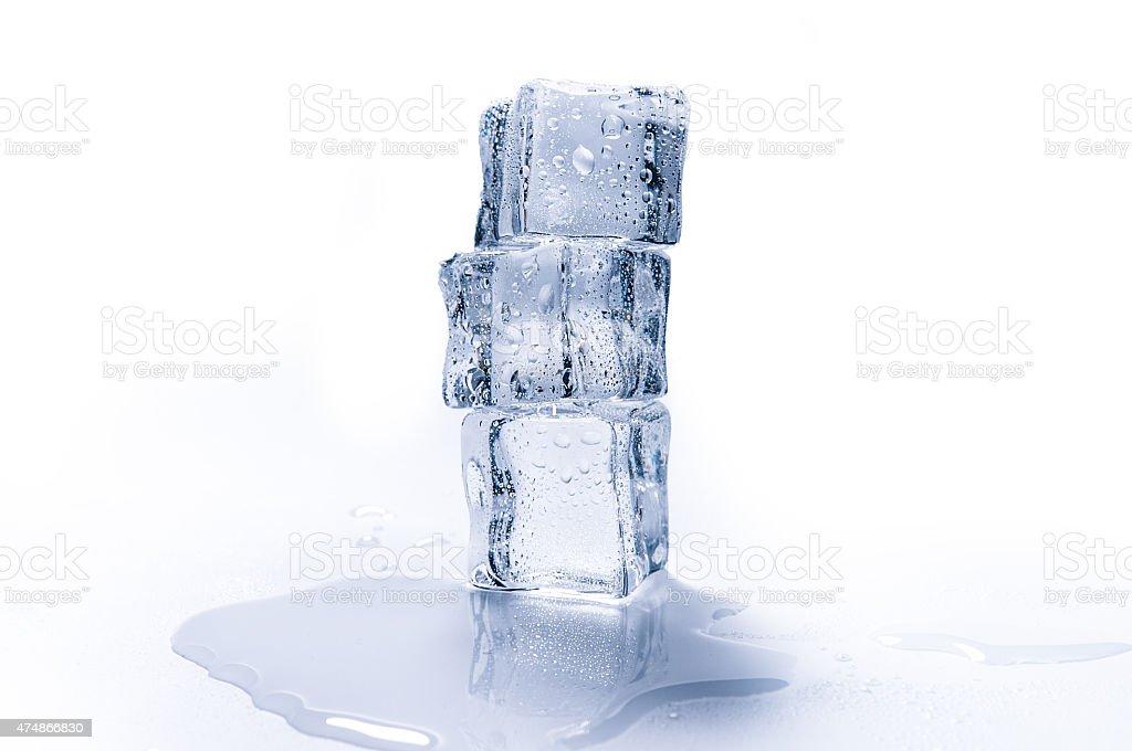Kostki lodu zbiór zdjęć royalty-free