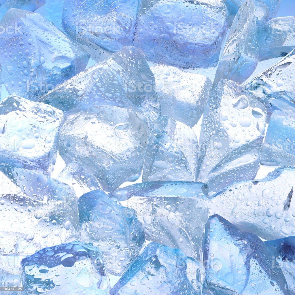 Ice cubes XXL stock photo
