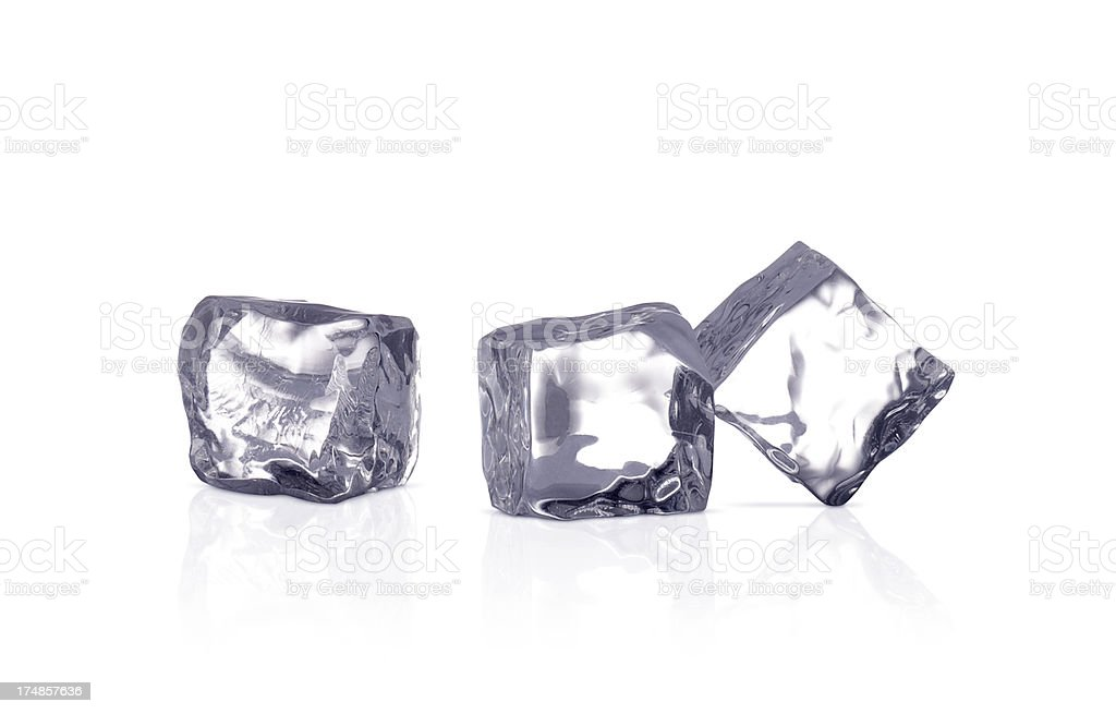 Ice Cubes+Clipping Path (Click for more) royalty-free stock photo