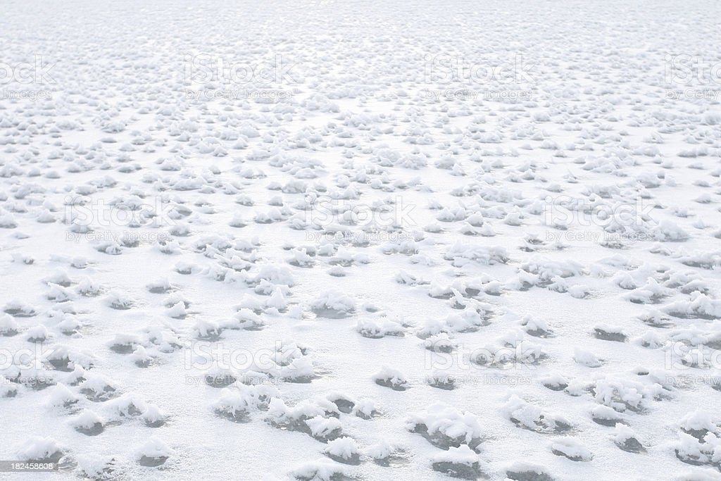 Desierto de hielo foto de stock libre de derechos