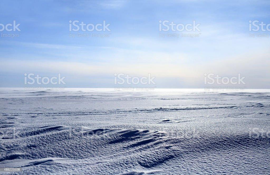 ice desert stock photo