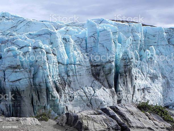 Ice Edge Of Greenland Ice Sheet Stock Photo - Download Image Now