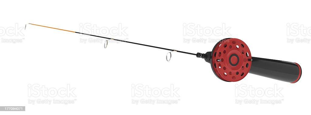 ice fishing rod – Foto