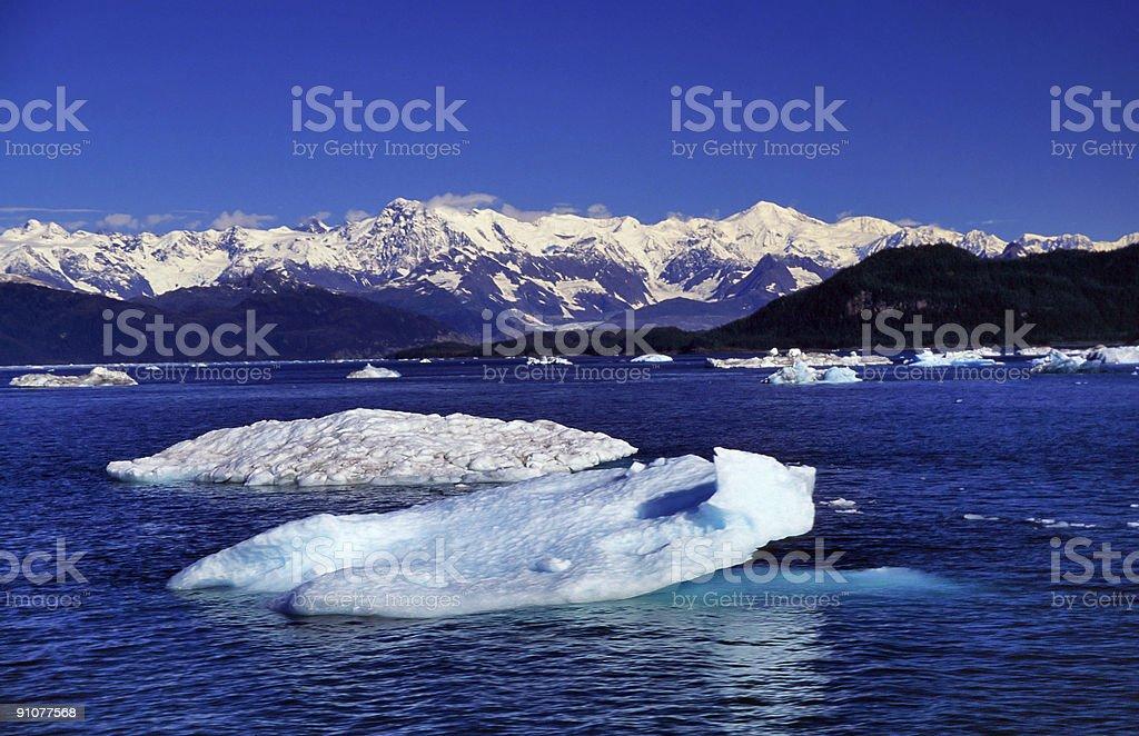 ice floe royalty-free stock photo