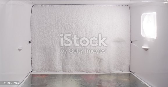 istock Ice formation on the inner surface 621862756