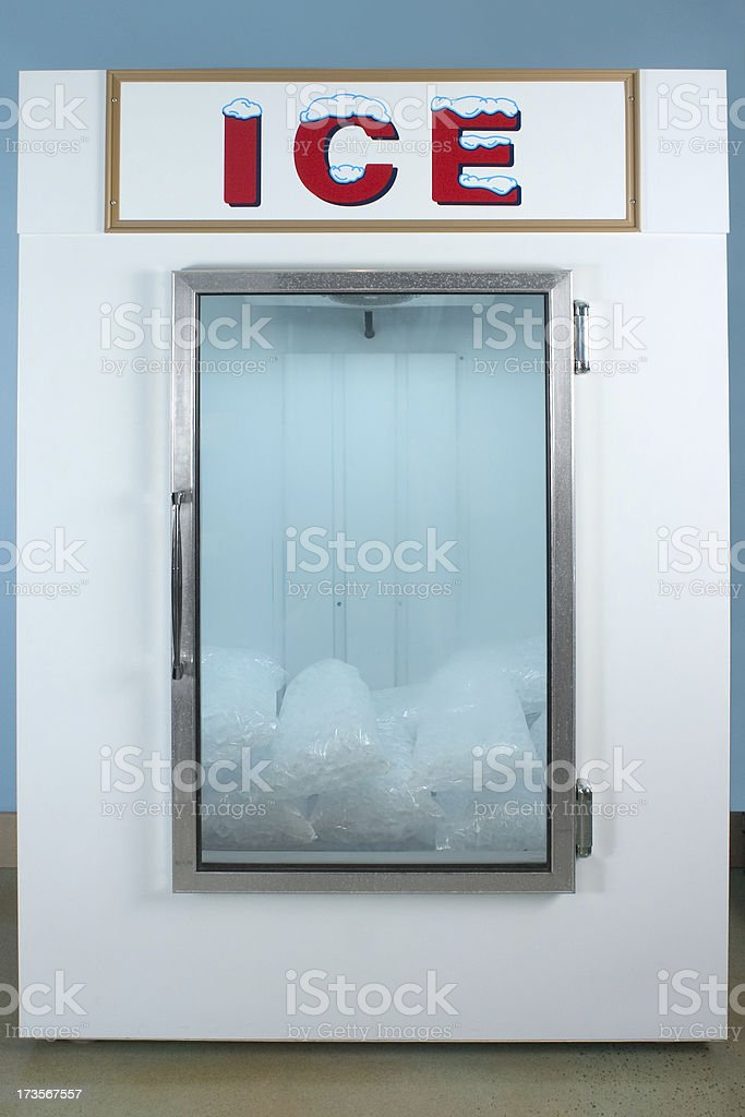 Ice Freezer royalty-free stock photo