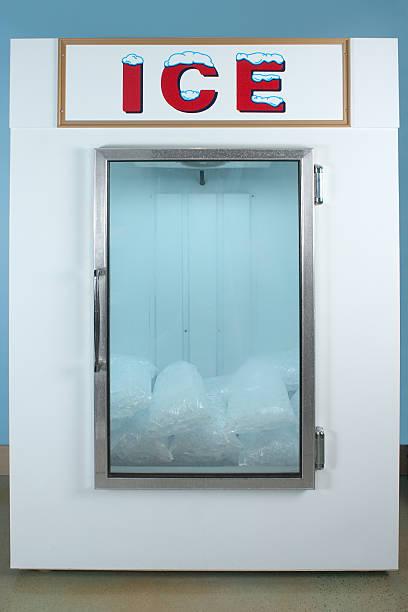 Ice Freezer stock photo