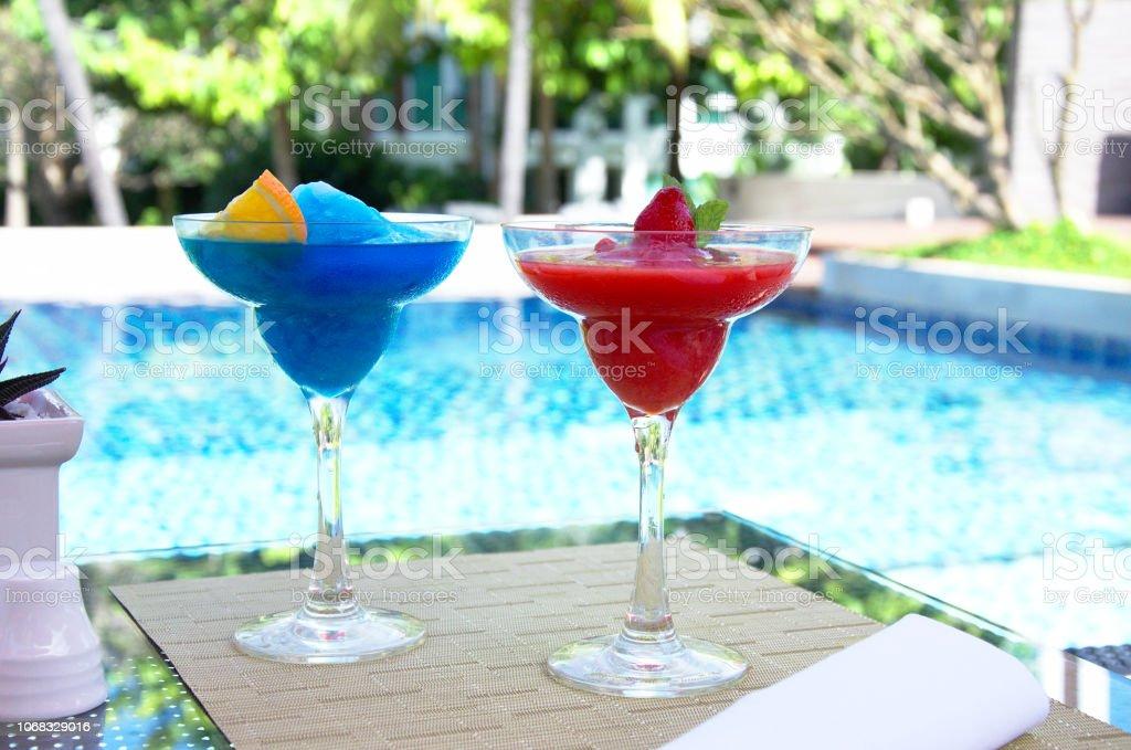 Ice fresh cocktail stock photo