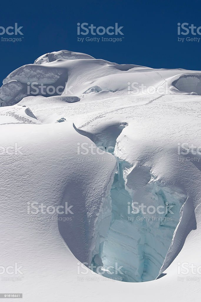 Ice glow royalty-free stock photo