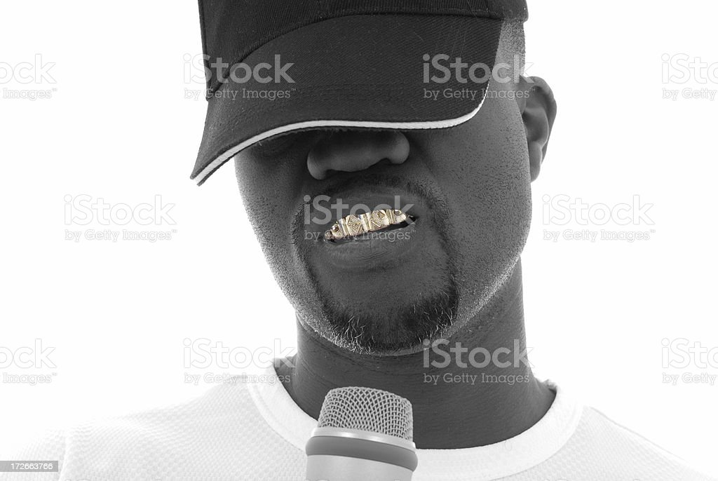 Ice grill royalty-free stock photo