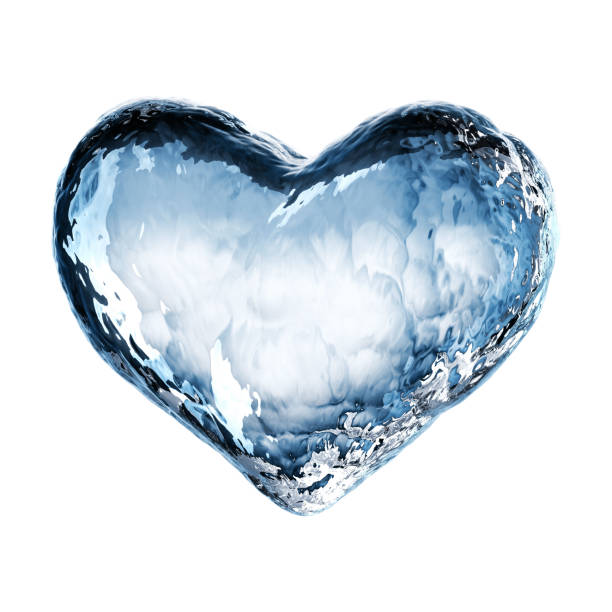 Royalty Free Frozen Heart Clip Art, Vector Images ...