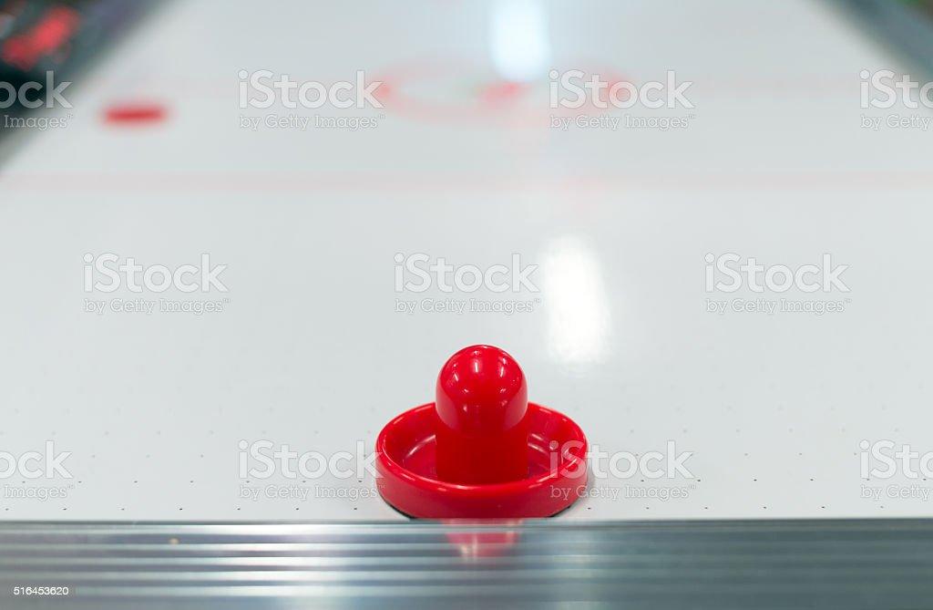 Ice hockey board table game. stock photo