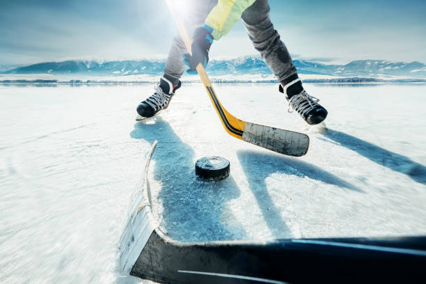 ice hockey game moment - hockey stock pictures, royalty-free photos & images
