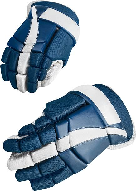 ice hockey - sports glove stock photos and pictures
