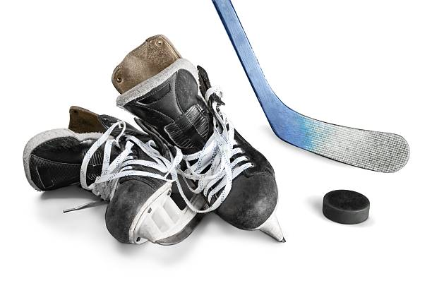 ice hockey - hockey stick stock pictures, royalty-free photos & images
