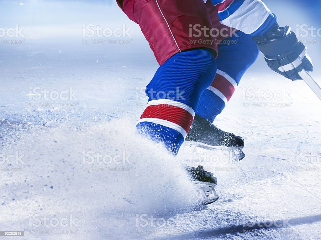 ice hockey stock photo