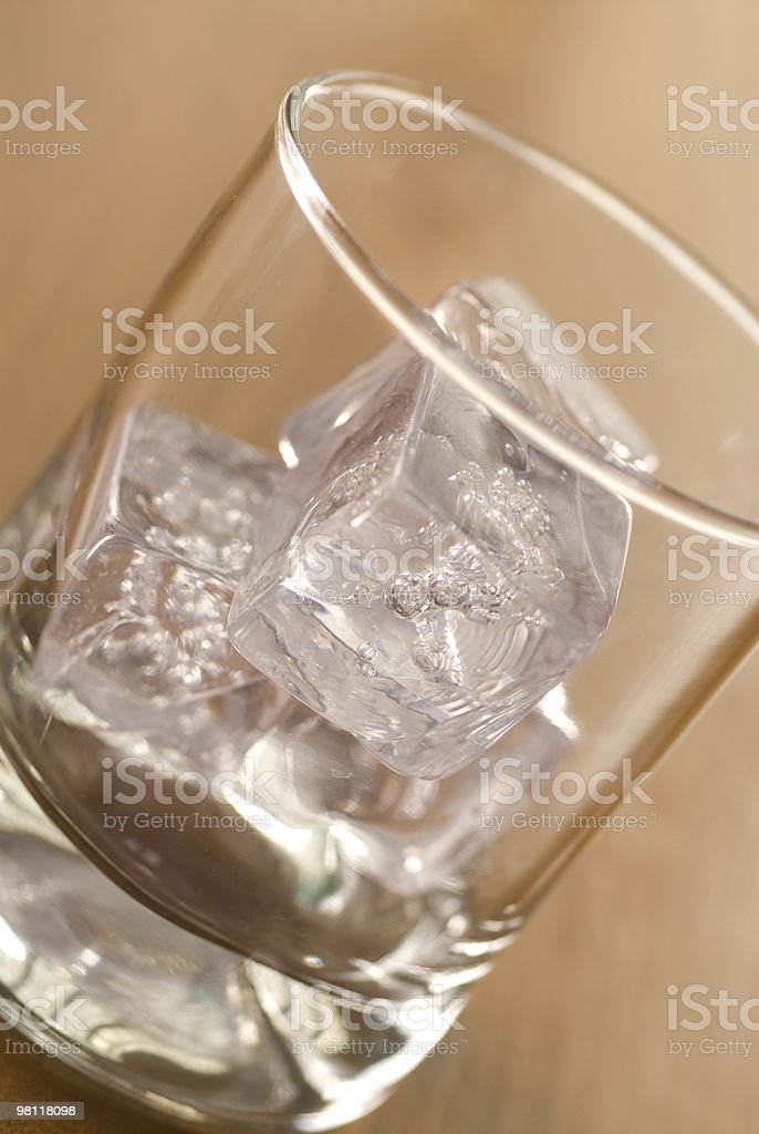 Ice in Glass royalty-free stock photo