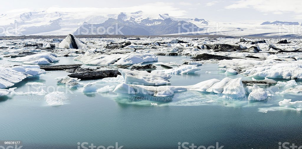 ice lake royalty-free stock photo