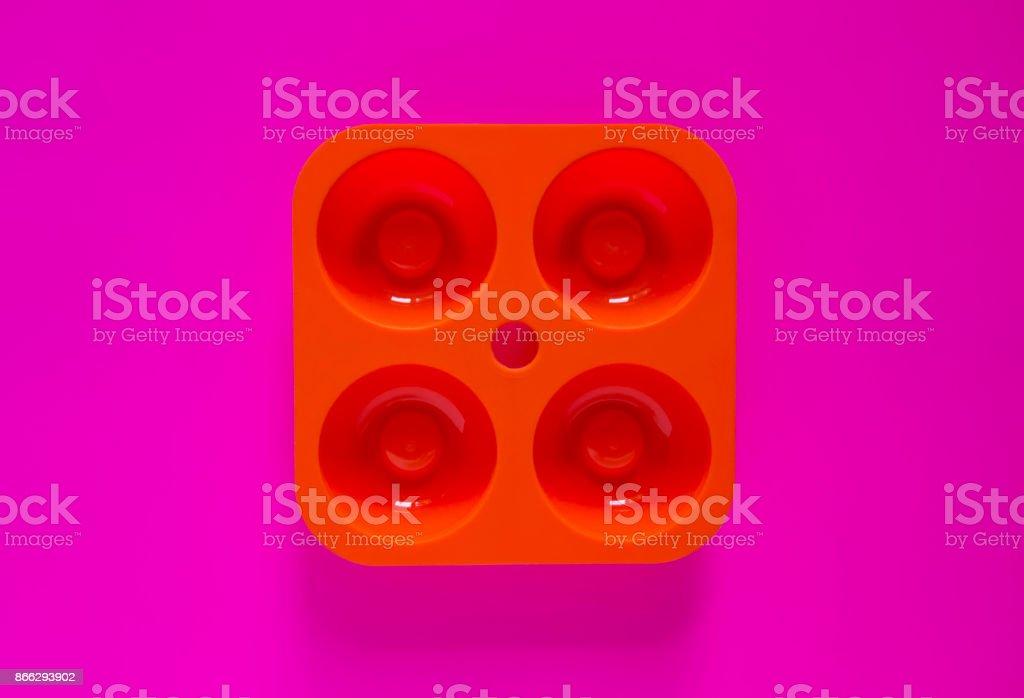 ice mold stock photo