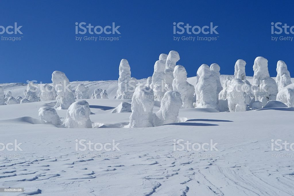 Ice Monster stock photo