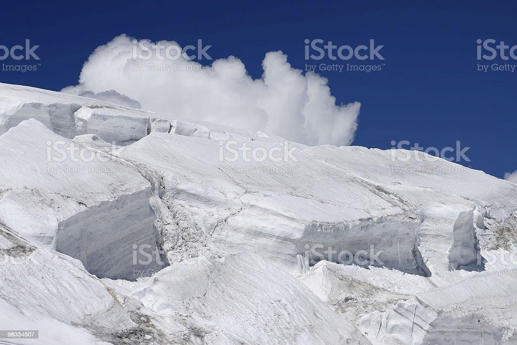 빙판 of Elbrus royalty-free 스톡 사진
