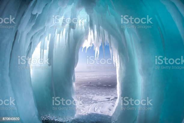 Photo of Ice on the Baikal rocks