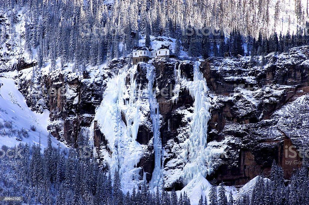 ice palace stock photo